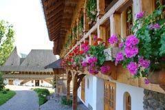 Monastério em Romania Foto de Stock Royalty Free