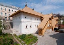 Monastério fraterno de construção de Znamensky do corpo em Moscou Foto de Stock