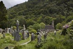 Monastério Glendalough na Irlanda Imagem de Stock Royalty Free