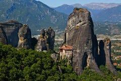 Monastério grego Imagem de Stock Royalty Free
