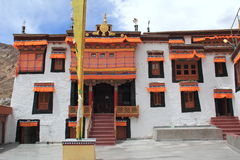 Monastério Ladakh de Diskit imagens de stock