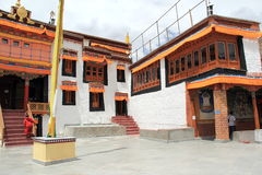 Monastério Leh Ladakh de Diskit Imagem de Stock