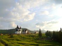 Monastério Maramures de Prislop Imagem de Stock Royalty Free