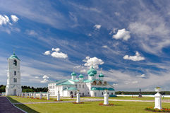 Monastério masculino Svirsky da trindade santamente. Foto de Stock Royalty Free