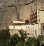 Monastério mega de Spilaio em Kalavryta Fotografia de Stock