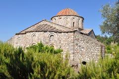 Monastério Moni Thari, console o Rodes, Greece fotografia de stock
