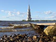 Monastério na água Foto de Stock