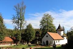 Monastério na Sérvia Fotos de Stock Royalty Free