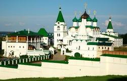Monastério Nizhny Novgorod Rússia da ascensão de Pechersky Imagens de Stock