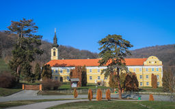 Monastério novo de Chopovo (Manastir Novo Shopovo) Fotografia de Stock Royalty Free