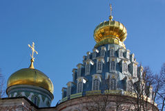 Monastério novo de Jerusalem, Rússia Imagens de Stock Royalty Free