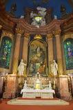 Monastério Oradea interno Romênia Transilvania Imagens de Stock Royalty Free