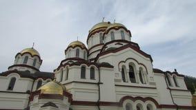 Monastério ortodoxo na Abkhásia, o Athos novo imagem de stock royalty free