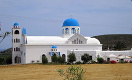 Monastério ortodoxo na ilha de Naxos imagem de stock royalty free