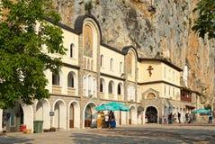Monastério ortodoxo Ostrog Fotografia de Stock