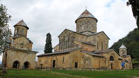 Monastério ortodoxo velho Gelati Imagens de Stock Royalty Free