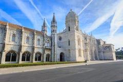 Monastério ou Hieronymites de Jeronimos Fotografia de Stock Royalty Free