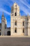 Monastério ou Hieronymites de Jeronimos Imagem de Stock