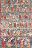 Monastério pintado Fotos de Stock Royalty Free
