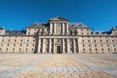 Monastério real de San Lorenzo de El Escorial, Madri, Espanha Fotografia de Stock