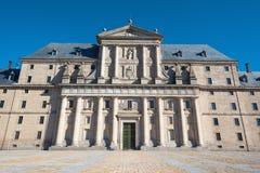 Monastério real de San Lorenzo de El Escorial, Madri, Espanha Fotos de Stock