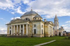 Monastério, região de Torzhok Tver Imagem de Stock Royalty Free