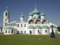 Monastério santamente da trindade de Alexander Svirsky Imagens de Stock Royalty Free