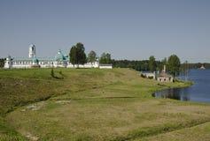 Monastério santamente da trindade de Alexander Svirsky Imagem de Stock