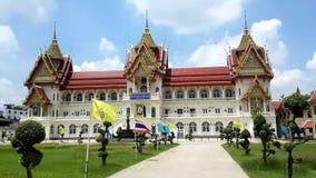 Monastério tailandês real Wat Bang Phai vídeos de arquivo