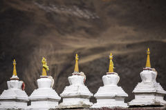 Monastério tibetano Imagens de Stock Royalty Free