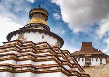 Monastério tibetano foto de stock royalty free