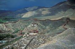 Monastério tibetano imagens de stock