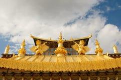 Monastério tibetano de Songzanlin, shangri-la, porcelana fotos de stock