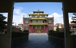 Monastério tibetano tradicional Fotos de Stock