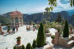 Monastério Varlaam em Meteora fotos de stock royalty free