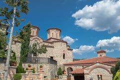 Monastério Varlaam em Meteora imagens de stock