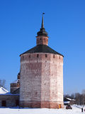 Monastério velho antigo de Kirillo-Belozersky do russo foto de stock royalty free