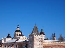 Monastério velho antigo de Kirillo-Belozersky do russo fotografia de stock