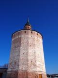 Monastério velho antigo de Kirillo-Belozersky do russo fotos de stock royalty free
