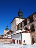 Monastério velho antigo de Kirillo-Belozersky do russo fotos de stock