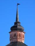 Monastério velho antigo do russo A parte superior da torre fotos de stock