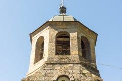 Monastério velho de Troyan da torre de sino em Bulgária Fotografia de Stock Royalty Free