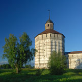 Monastério velho em Kirillov Imagens de Stock