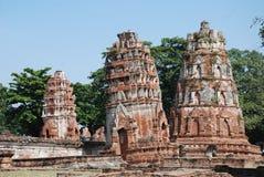 Monastério velho no thailandia Foto de Stock