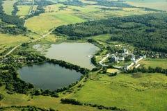 Monastério Volokolamsk de Joseph-Volokolamsk Fotos de Stock Royalty Free