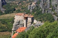 Monastérios de Meteora Foto de Stock Royalty Free