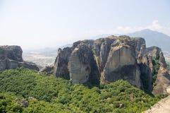 Monastérios de Meteora Fotos de Stock