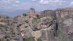 Monastérios muito especiais de Meteora, Grécia foto de stock
