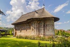 Monast?re d'humeur, Roumanie image stock