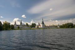 Monast?rio de Valday Iversky, R?ssia Imagens de Stock